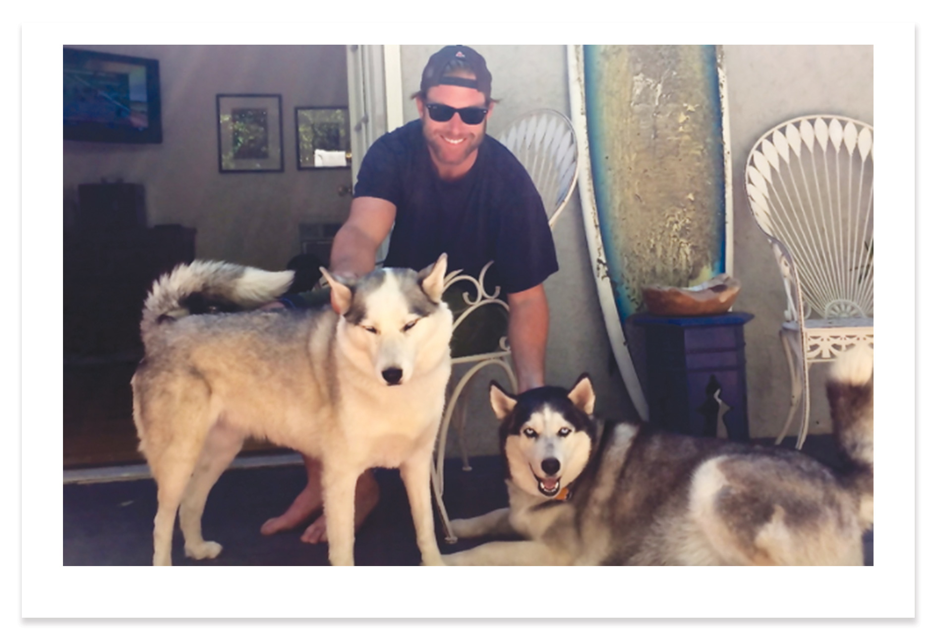 Brian, Echo, + Bella -