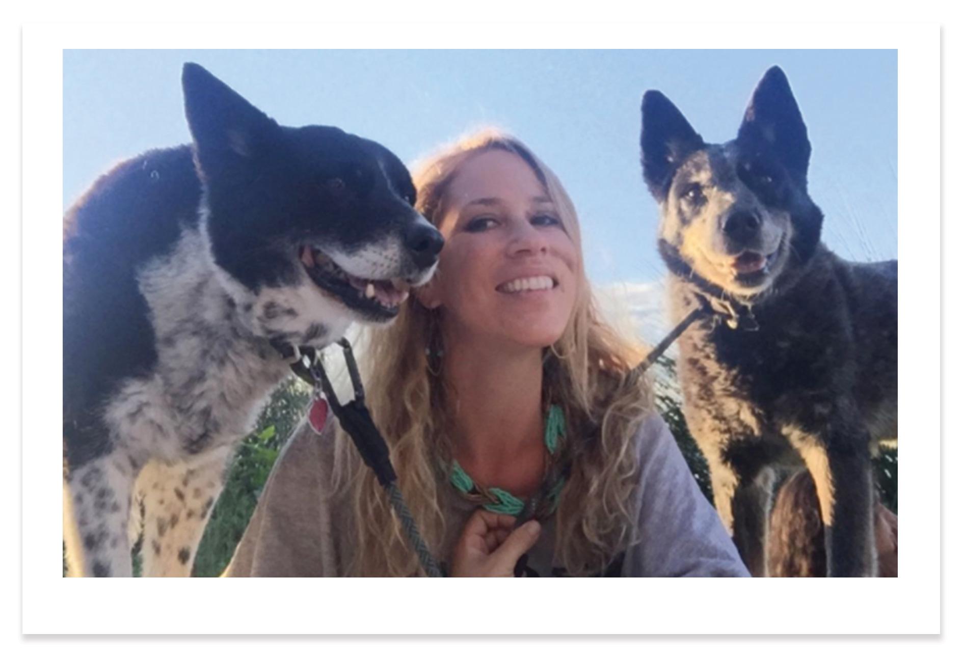 Lindsay Velez owner + trainer of Eastside Hounds -