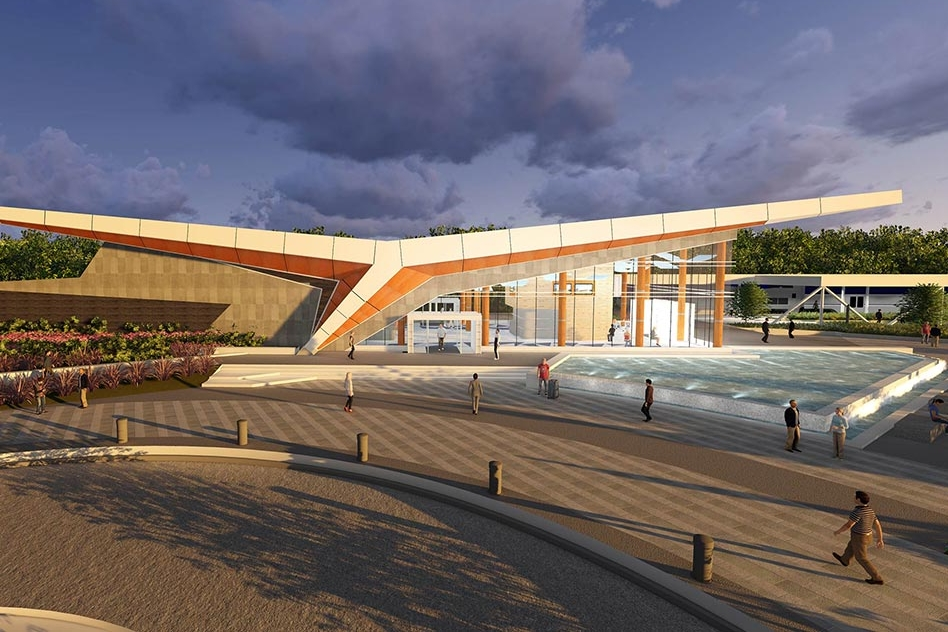 Newport News Multi-Modal Station</br><em>Newport News, Virginia</em>|transportation architecture