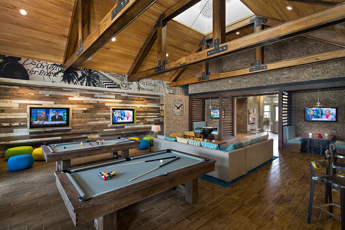 Retreat at Orlando</br><em>Orlando, Florida</em>|recreation interiors