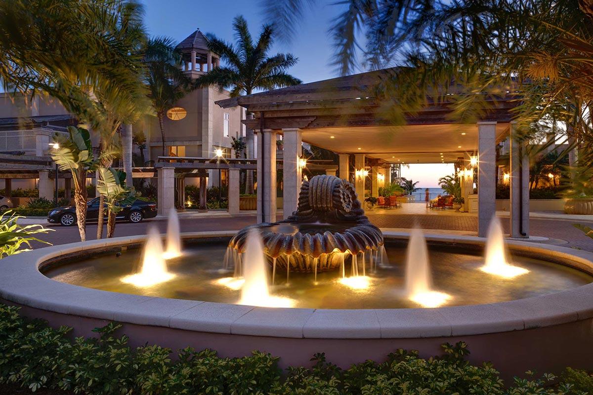 Ritz Carlton Beach Club</br><em>Sarasota, Florida</em>|featured hospitality recreation architecture