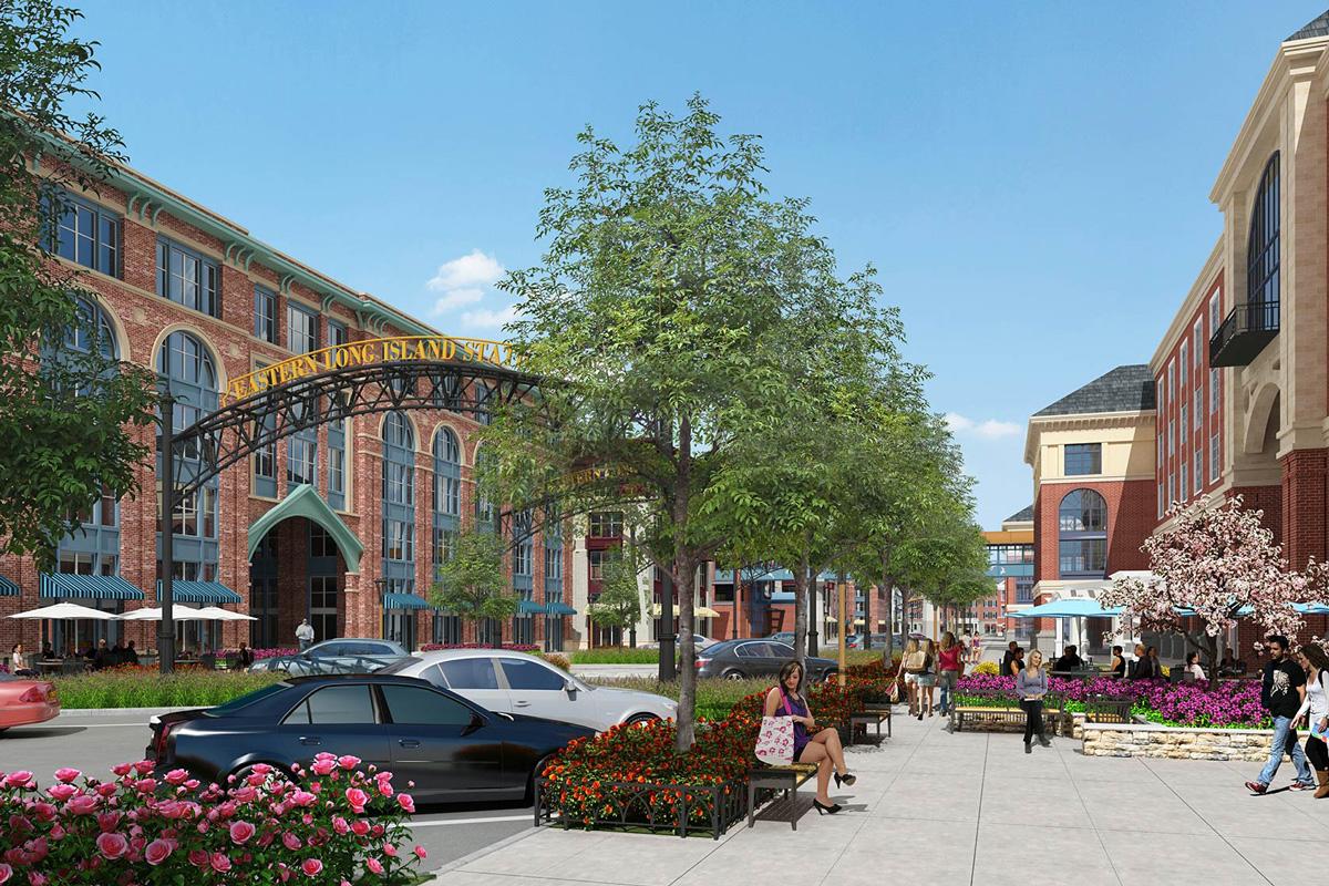Ronkonkoma Hub</br><em>Ronkonkoma, New York</em>|marketratehousing mixeduse architecture landscapearchitecture