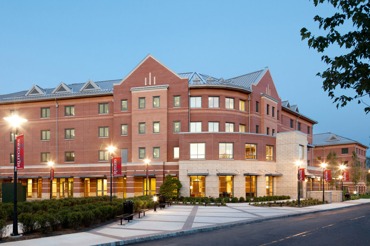 Rutgers University - B.E.S.T. Hall </br><em>Piscataway, New Jersey</em>|residencehalls architecture