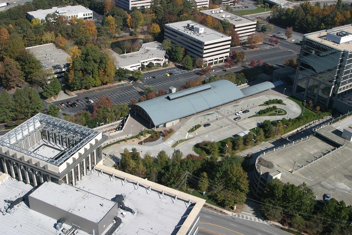 MARTA Medical Center Station_Aerial.JPG