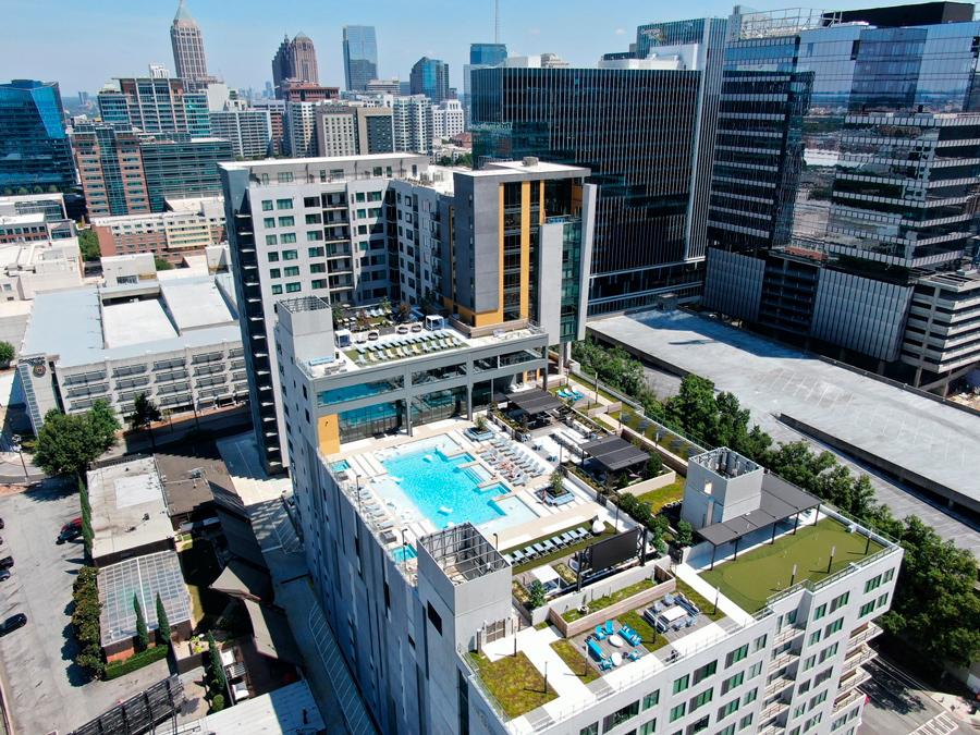The Standard at Atlanta</br><em>Atlanta, Georgia</em>|landscapearchitecture
