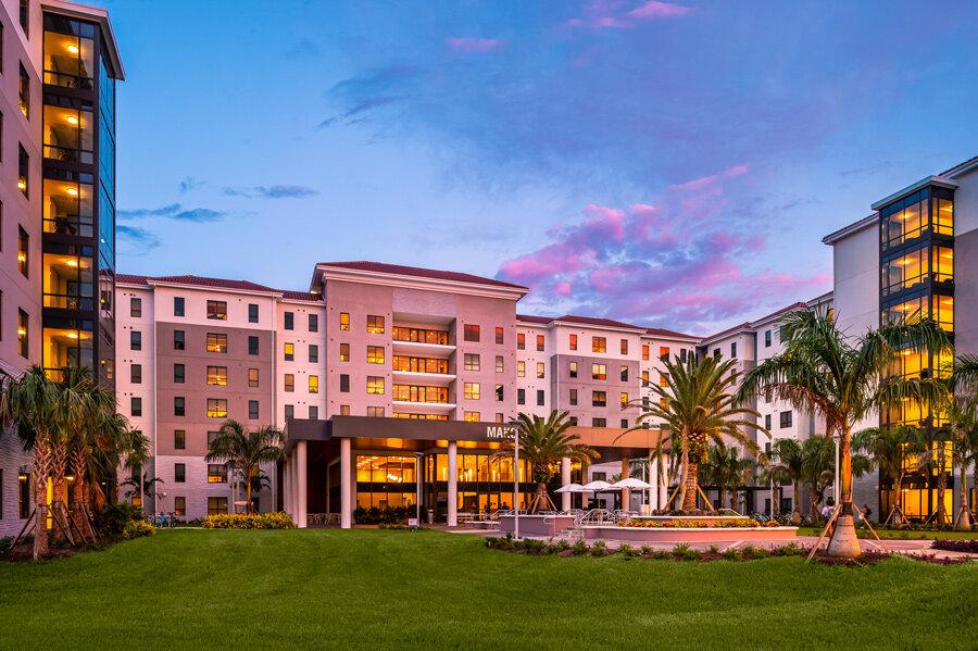 Nova Southeastern University - Mako Hall</br><em>Davie, Florida</em>|residencehalls