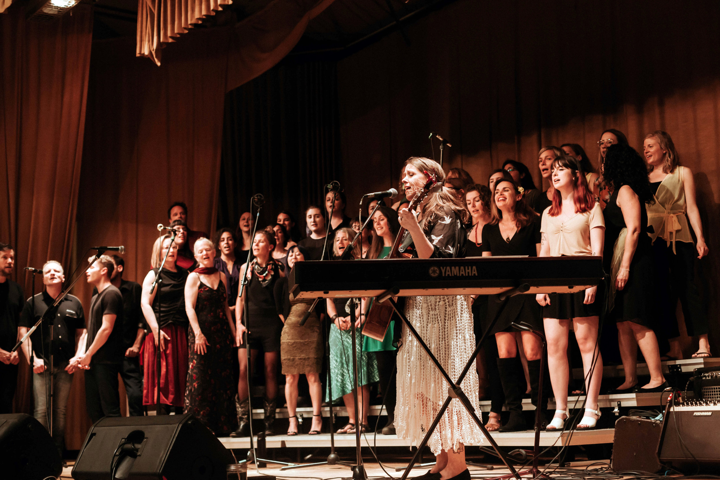 Rain Coast Choir performing at the Commercial Drive Legion for our Legacy Tribute Showcase, May 26th, 2019