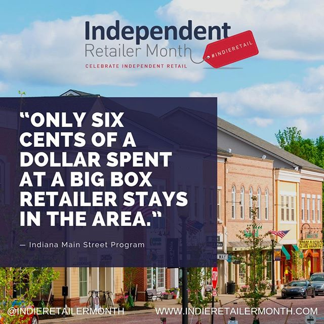 Shopping #indieretail is so important for your local economy! Shop #indie and help your community thrive! . . . #factfriday #friday #fact #insight #knowledge #info #inspire #indieretail #indieretailer #shopping #lovelocal #supportlocalbusiness #localshop #locallyowned #independentretailer #independentretailermonth #indieretailermonth #retail #store #smallbusiness #smallbiz #entrepreneur #weekend