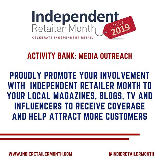 Sing loud and proud about being a part of #IndieRetailerMonth! Promote your involvement with Independent Retailer Month to your local magazines, blogs, TV and influencers to receive coverage and help attract more customers. . . . #activities #fun #events #engage #community #celebration #indieretail #indieretailer #shopping #lovelocal #supportlocalbusiness #localshop #locallyowned #independentretailer #independentretailermonth #indieretailermonth #retail #store #smallbusiness #smallbiz #entrepreneur #love #week #inspo #stats #insight