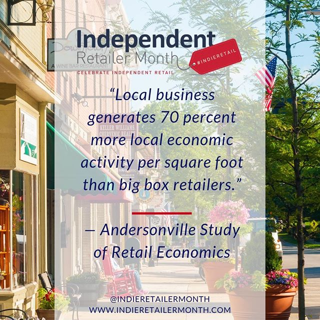 When you're doing some #retail therapy this weekend remember to keep it local and help your community grow, . . . #factfriday #friday #fact #insight #knowledge #info #inspire #indieretail #indieretailer #shopping #lovelocal #supportlocalbusiness #localshop #locallyowned #independentretailer #independentretailermonth #indieretailermonth #retail #store #smallbusiness #smallbiz #entrepreneur #weekend
