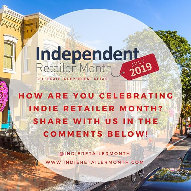 We want to hear about all the ways you are celebrating #IndieRetailerMonth this July! Share in the comments and help spread the #locallove! . . . #resources #support #lovelocal #locallove #indieretailermonth #independentretailermonth #indieretail #indie #shop #shopping #store #momandpop #engage #celebrate #support #entrepreneur #retail #store #smallbusiness #smallbiz  #supportlocalbusiness #localshop #locallyowned