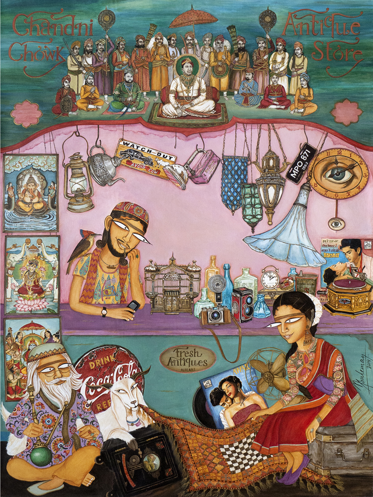 Image credit: Nilofer Suleman, Chandni Chowk Antique Store , 2014.