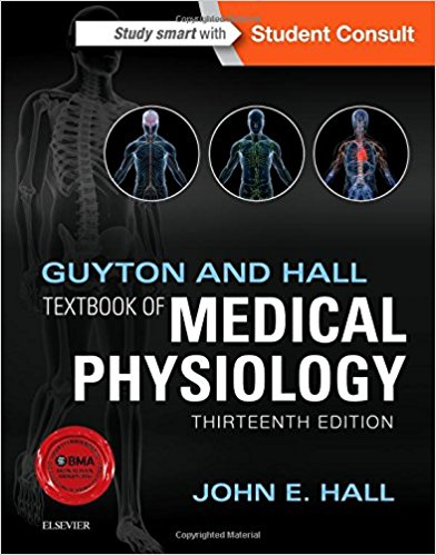 """Textbook of Medical PhysiologyGuyton & Hall - Many consider this book to be the """"in between"""" physiology book. It explains concepts succinctly and is a wonderful book for anyone with a bit of physiology background."""