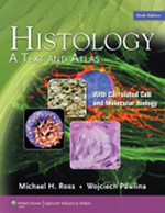 Histology, a Text and AtlasRoss and Pawlina - ots of descriptions of the disease processes and fewer pictures. It is a favourite of Ian Gibbins and is used as the source for many of his Histology diagrams.