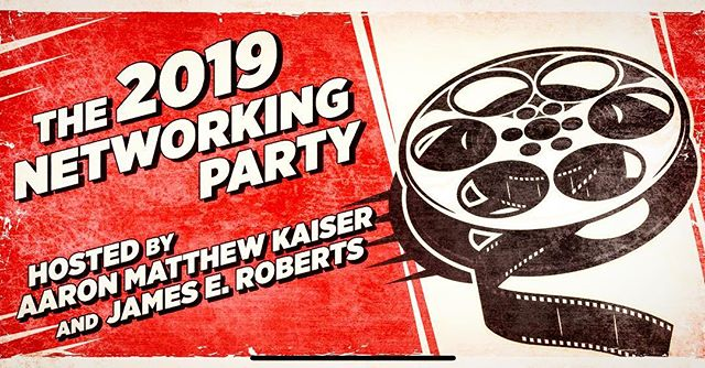 Colleagues and Industry Friends, join us tonight for the 2019 Networking Party! Come meet fellow creatives in the film and music industry!  Doors open at 7:30!  https://www.facebook.com/events/411804232715802/