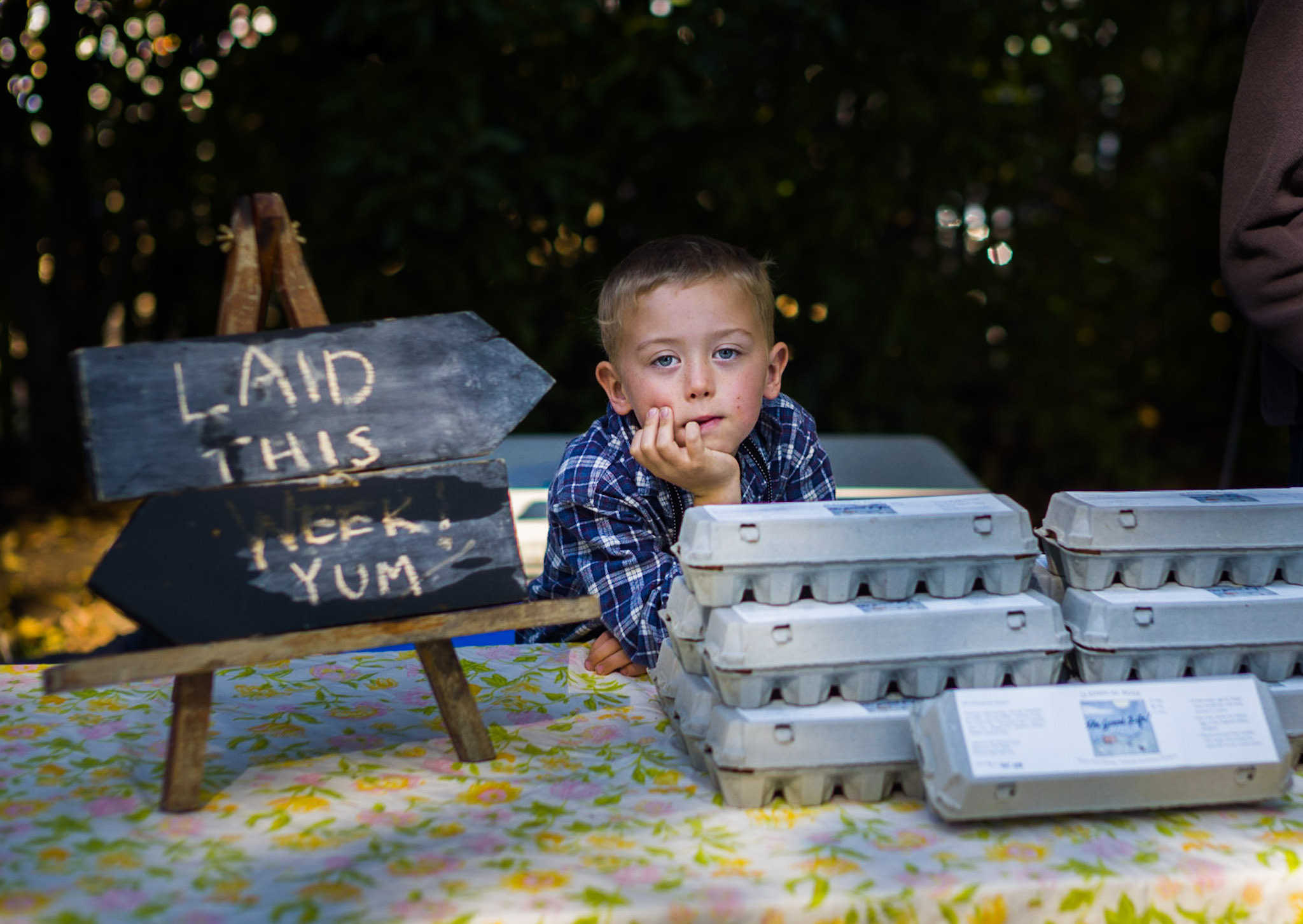 The Good Life Farm Eggs at Farmers Markets.JPG