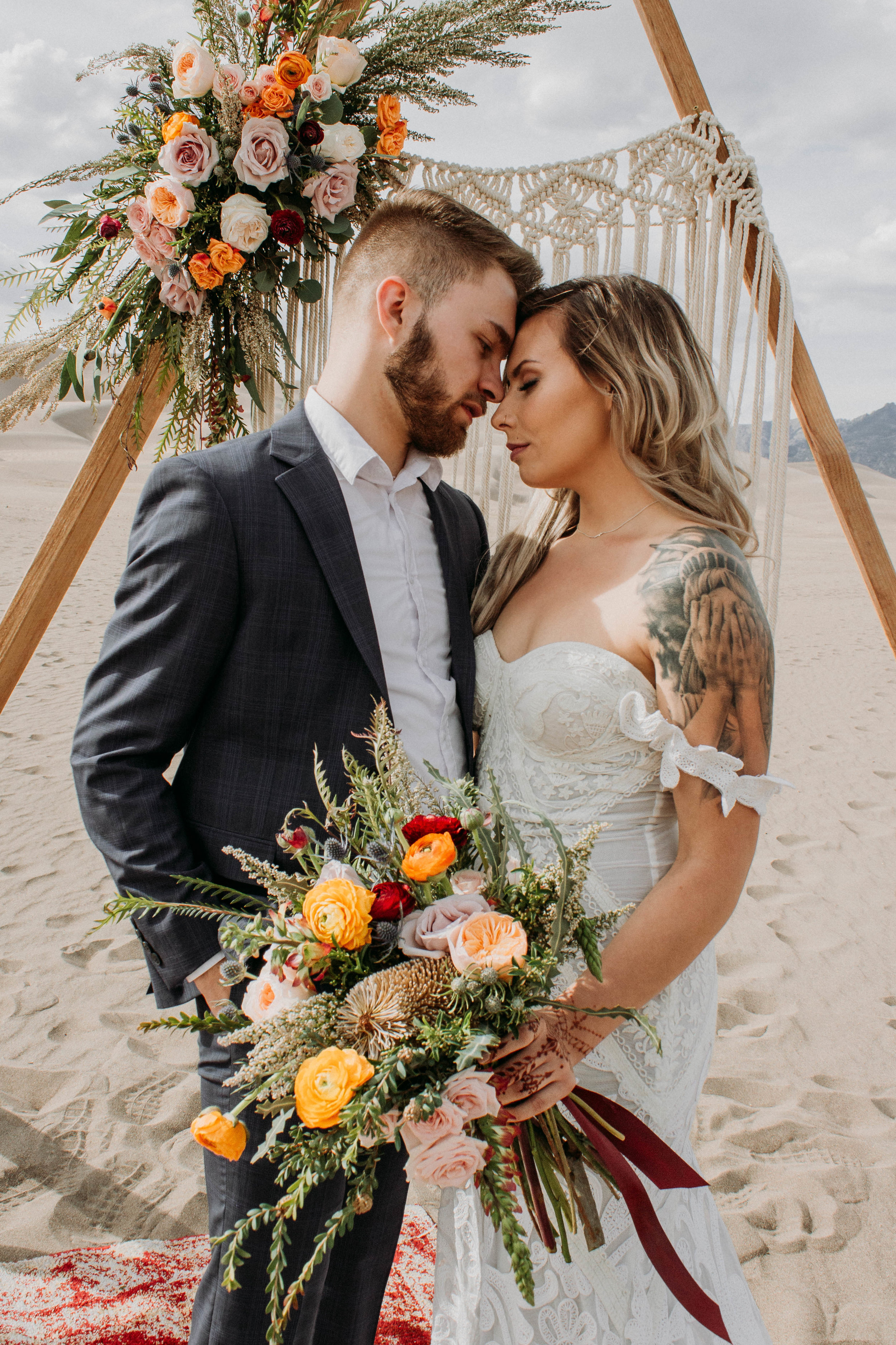 Sand dunes styled Shoot by Courtney Jordan