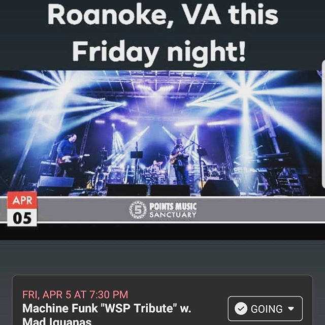 Roanoke, VA Greenville, SC this weekend! Grab your tickets now!! #wsmfp #roanoke #gottrocksgreenville #mfunk