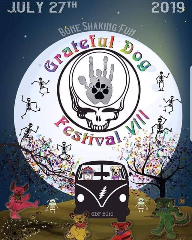 Kicking off Grateful Dog weekend tonight see you there!  Fri 7/26- Local Motive Brewing, Florence, SC 9pm Sat 7/27- Grateful Dog Festival, Florence, SC 9:30pm