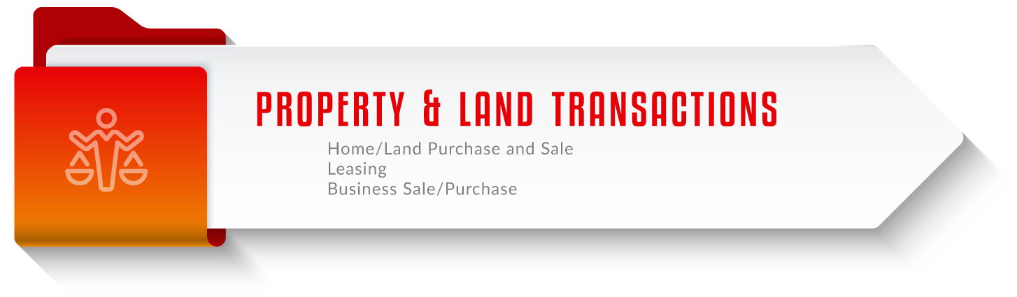 Property and Land Transactions