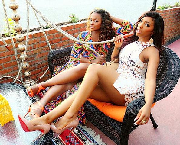 Phaedra Parks &Porsha Williams