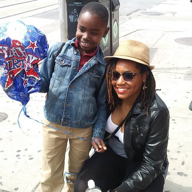 Birthday boy!!!!! Ugh the joy this child brings me is so undeniable.  Feel free to wish my Godson Ayden a Happy Sunrising!!! I love you Ayden Miles. 8 years havr gone too fast. #PrinceAyden #Godmomslove