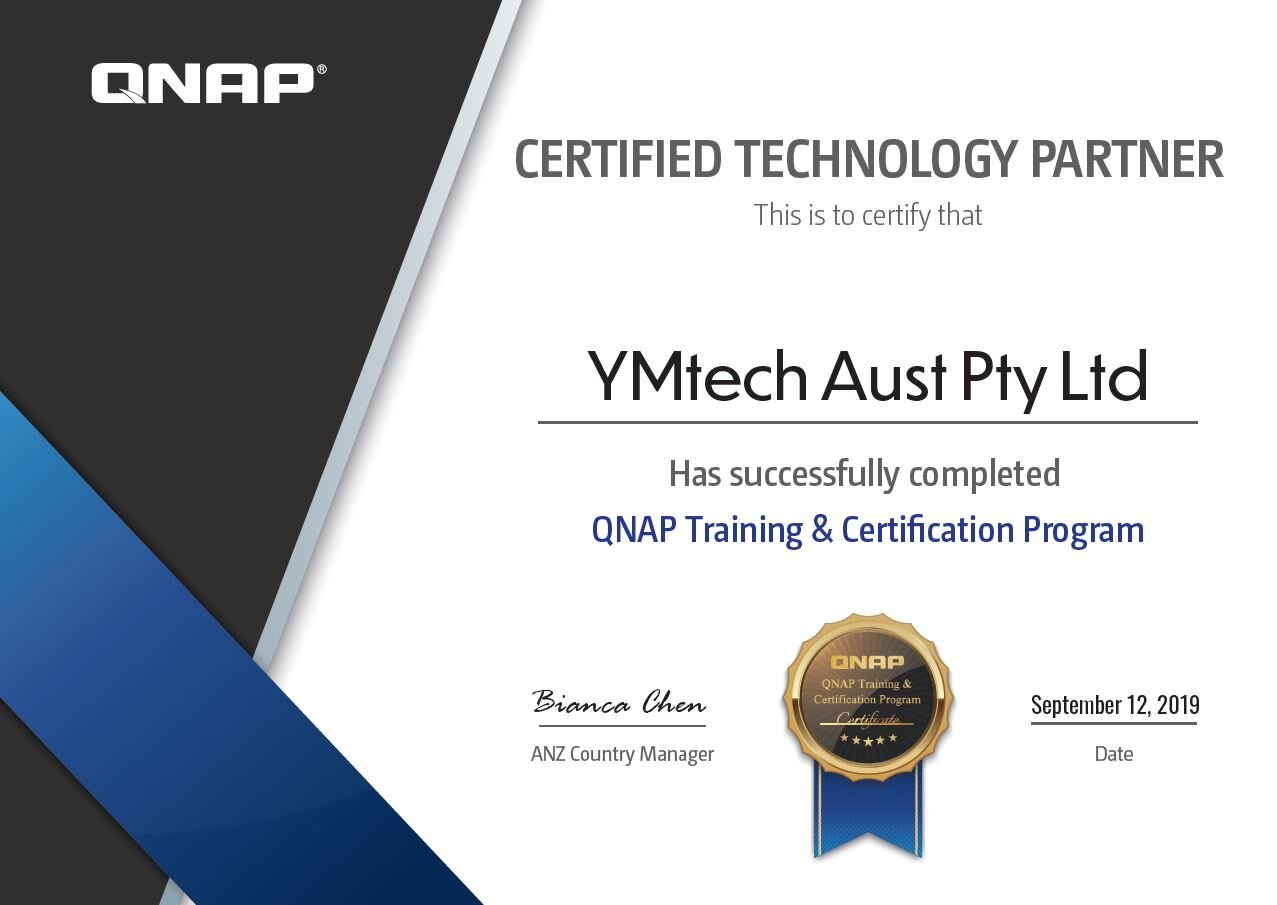 QNAP certified technology partner