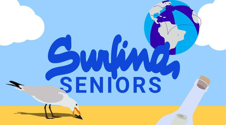 Surfing Seniors Hannah Tsvayberg Spring 2017