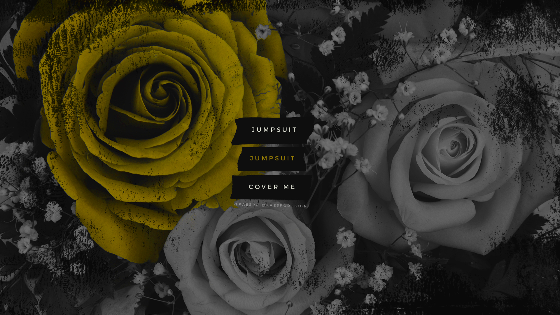 Trench Jumpsuit Lockscreen Floral Backgrounds | Design by KAESPO