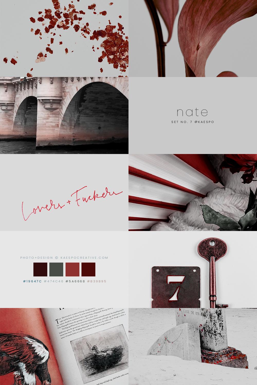 Red Aesthetics & Photography by KAESPO Design + Branding