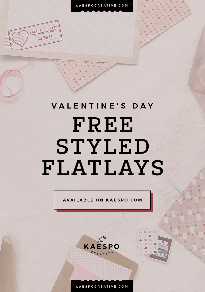 Valentines Day 2019 Social Media Graphics & Styled Flatlays by KAESPO | Minimal Design, Lifestyle, and Creative Services