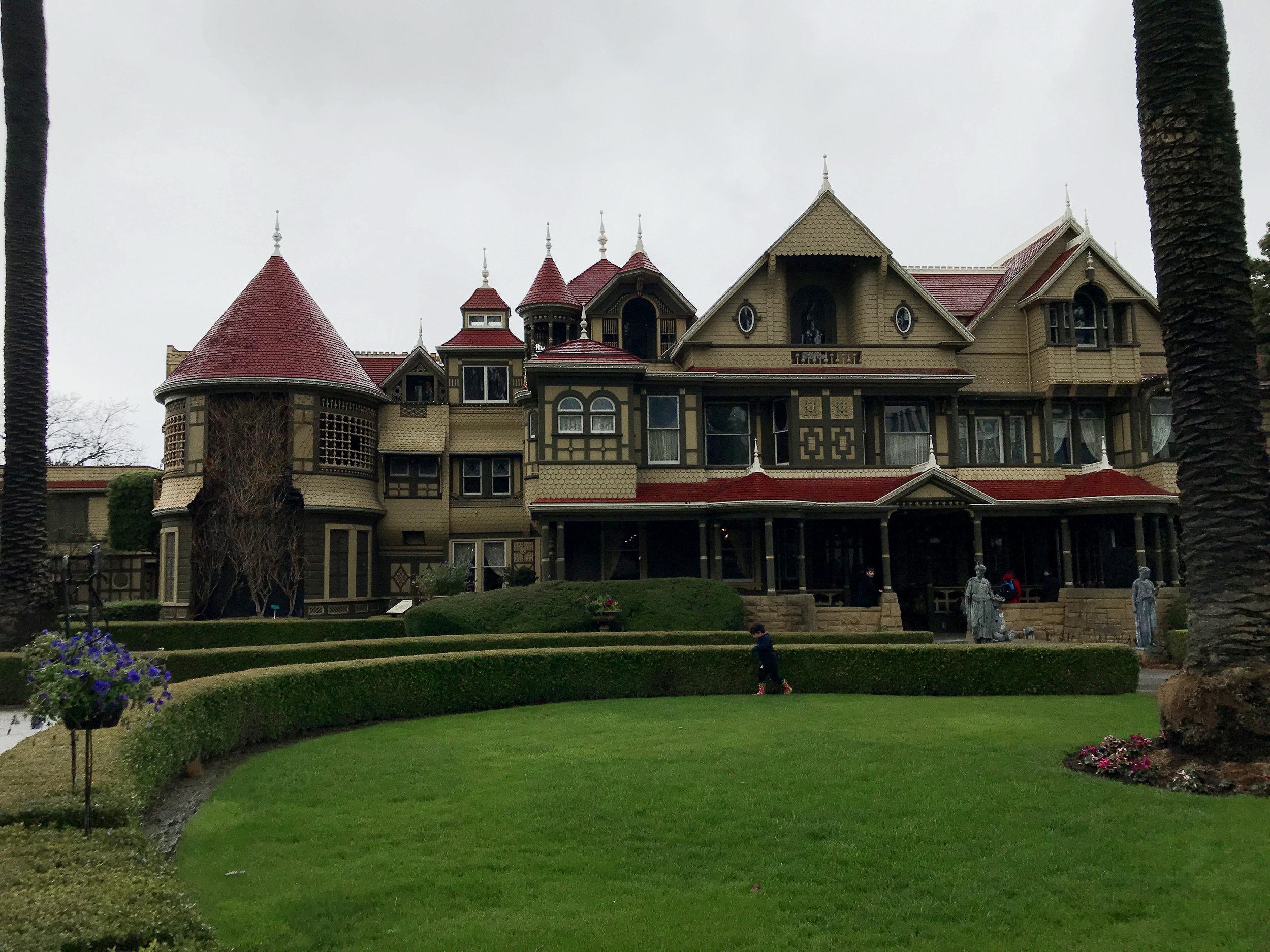 KAESPO San Jose Travel Blog Post - Visiting the Winchester Mystery House