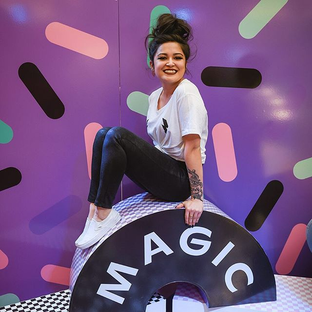 Did you see my ridiculously colorful stories last week at #HeartmeltMotel ? There were slides and ball pits involved 💁♀️ Hop on the rainbow adventures and head over to @southgatecentre - and if the picture perfect booths aren't enough, you can also win a trip to cali if you share some snaps from the pop-up using the hashtag #HeartmeltMotel . There's a link in my bio for the details. ⠀ And there's a pink bull 🔥 So. I mean, you don't want to miss that, do you? ⠀ #sponsored #HeartmeltMotel @southgatecentre ⠀ #meltsomehearts #yeglocal #socal #yegliving #edmontonliving #exploreedmonton #yegbusiness #yegbloggers #canadiancreatives #yegblog #yegwomen #instagrammablewalls #yegdesign #yegfashion #southgatecentre