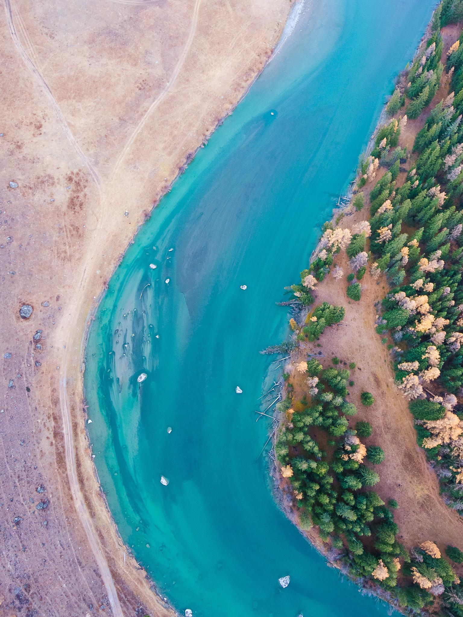 Altai River flow