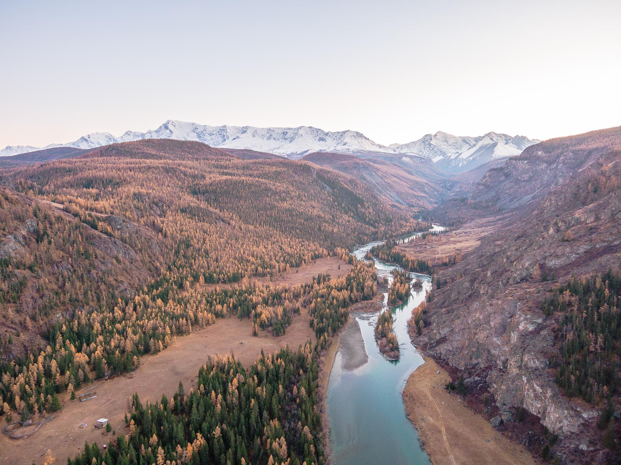 Altai River Mountain