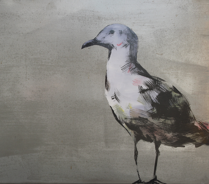 Artwork by James Giddy for Historic Heart Animation by Alexander Hare  Located atCnr Pier & Hay Sts, Perth