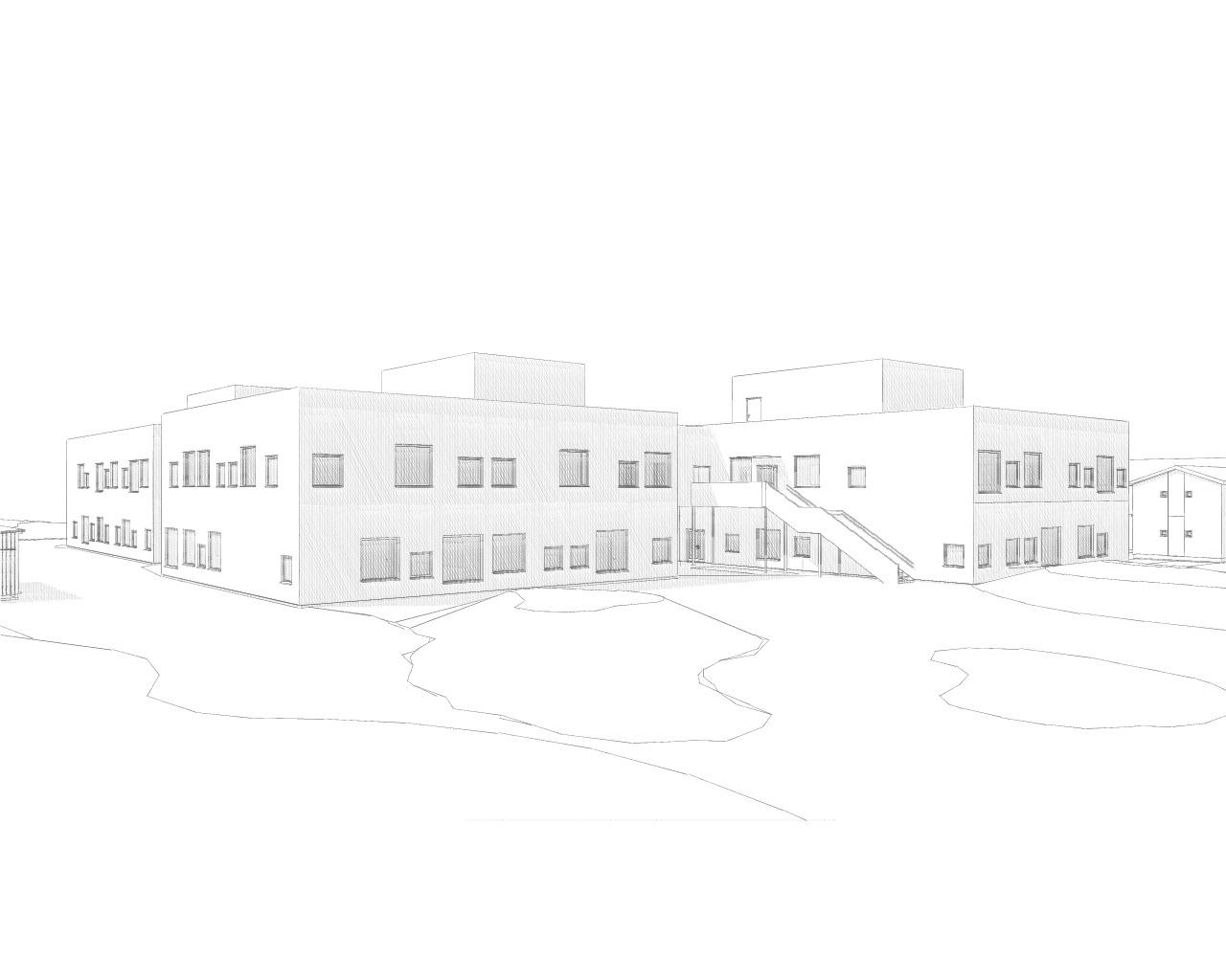 Hovedmodell Hebekk skole - Picture # 2.jpg
