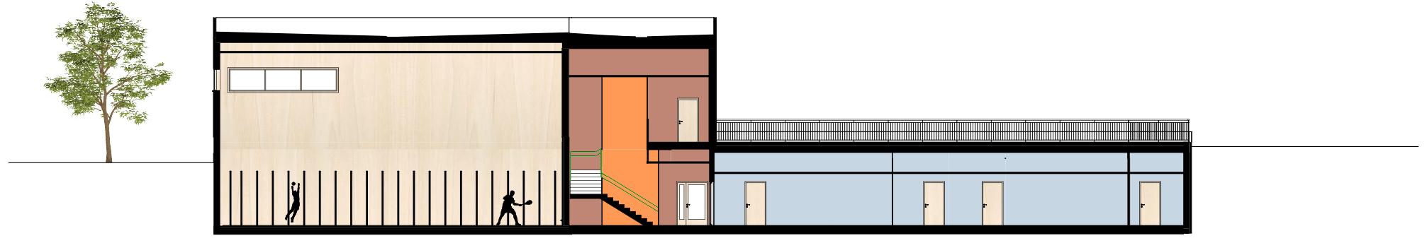 Planforum Arkitekter_ Hebekkskole_Section Sport Hall.jpg