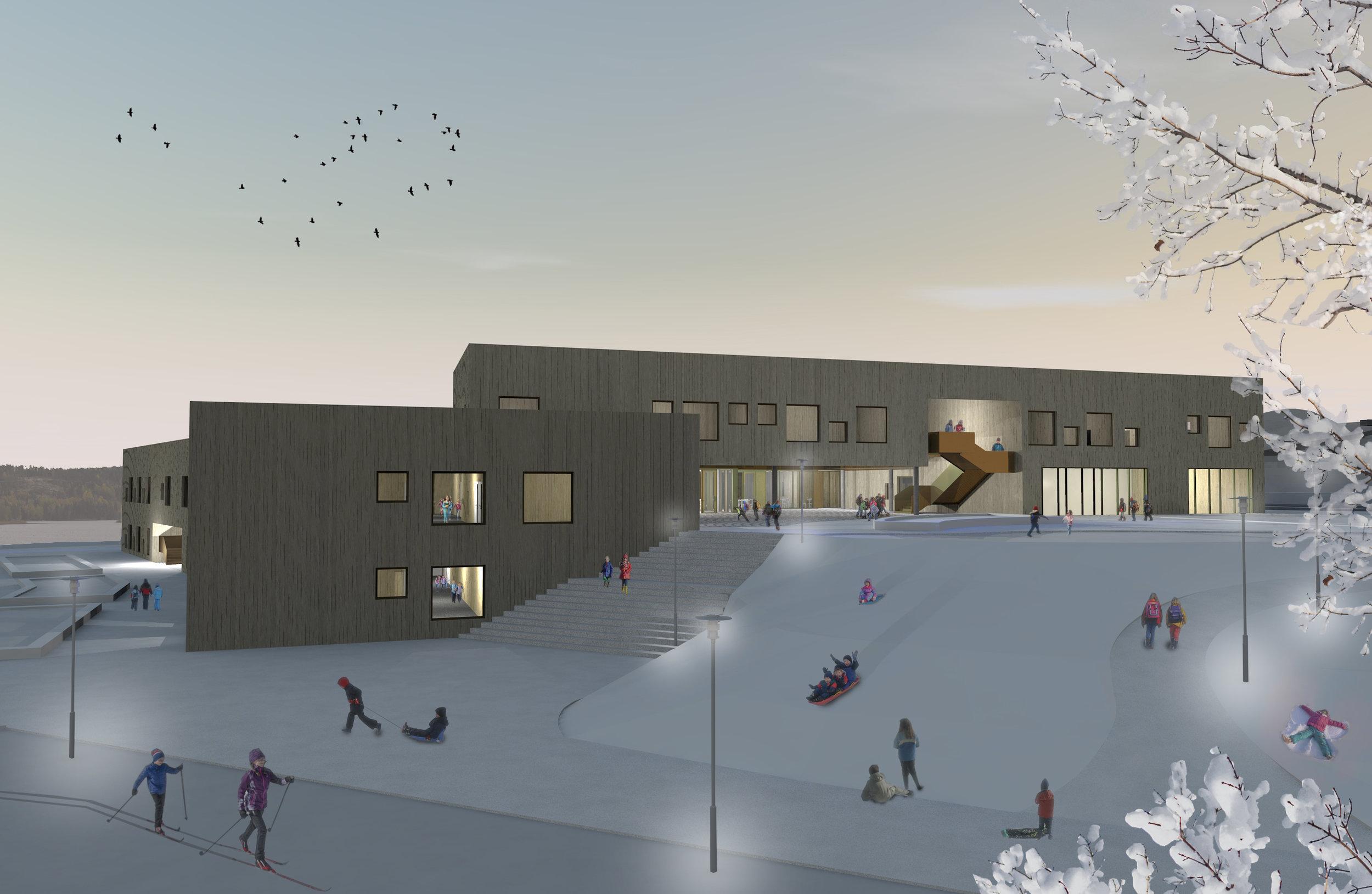Planforum Arkitekter_YES_Illustrasjon morgenbilde vinter.jpg