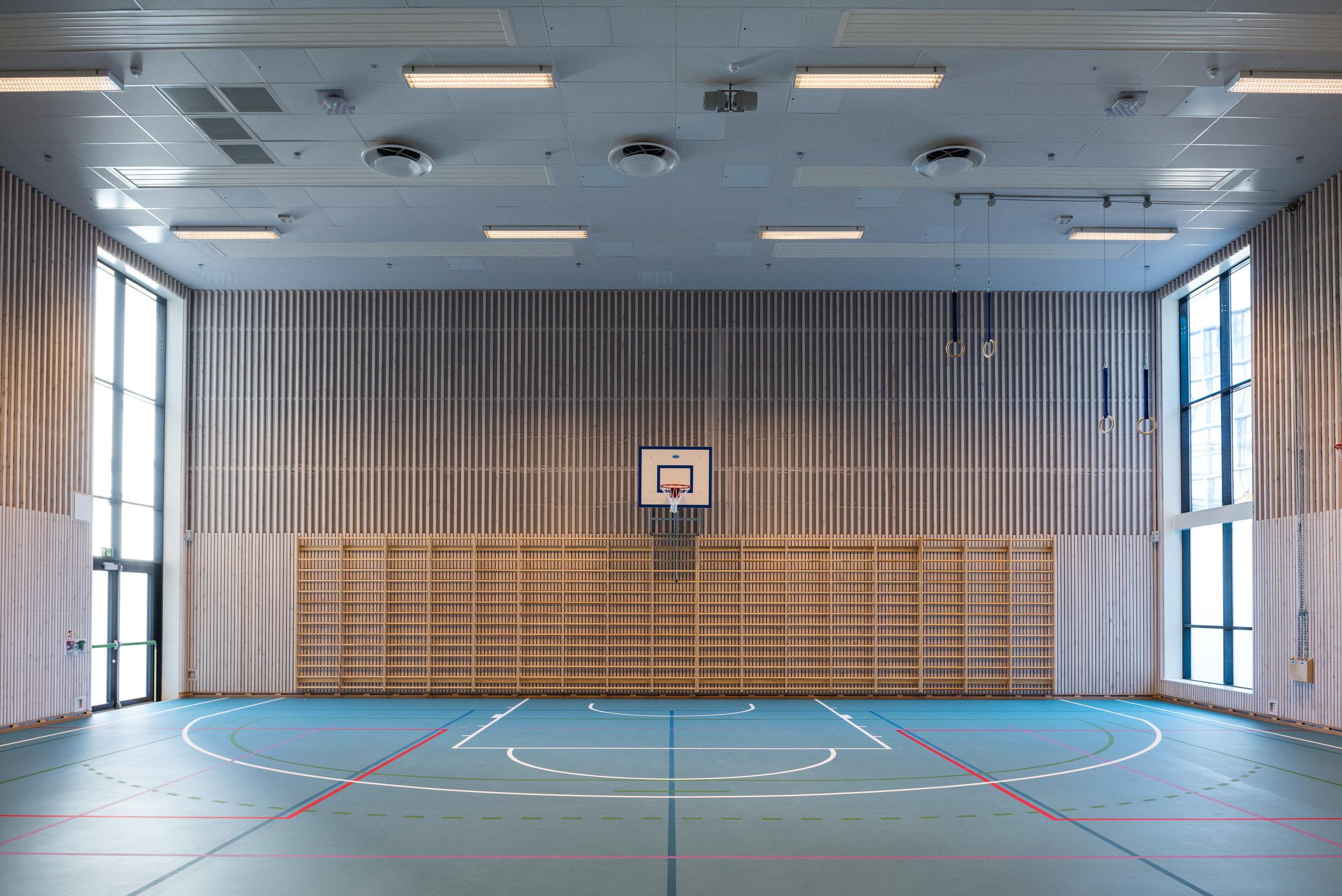 Idrettshall ved Fernanda Nissen skole