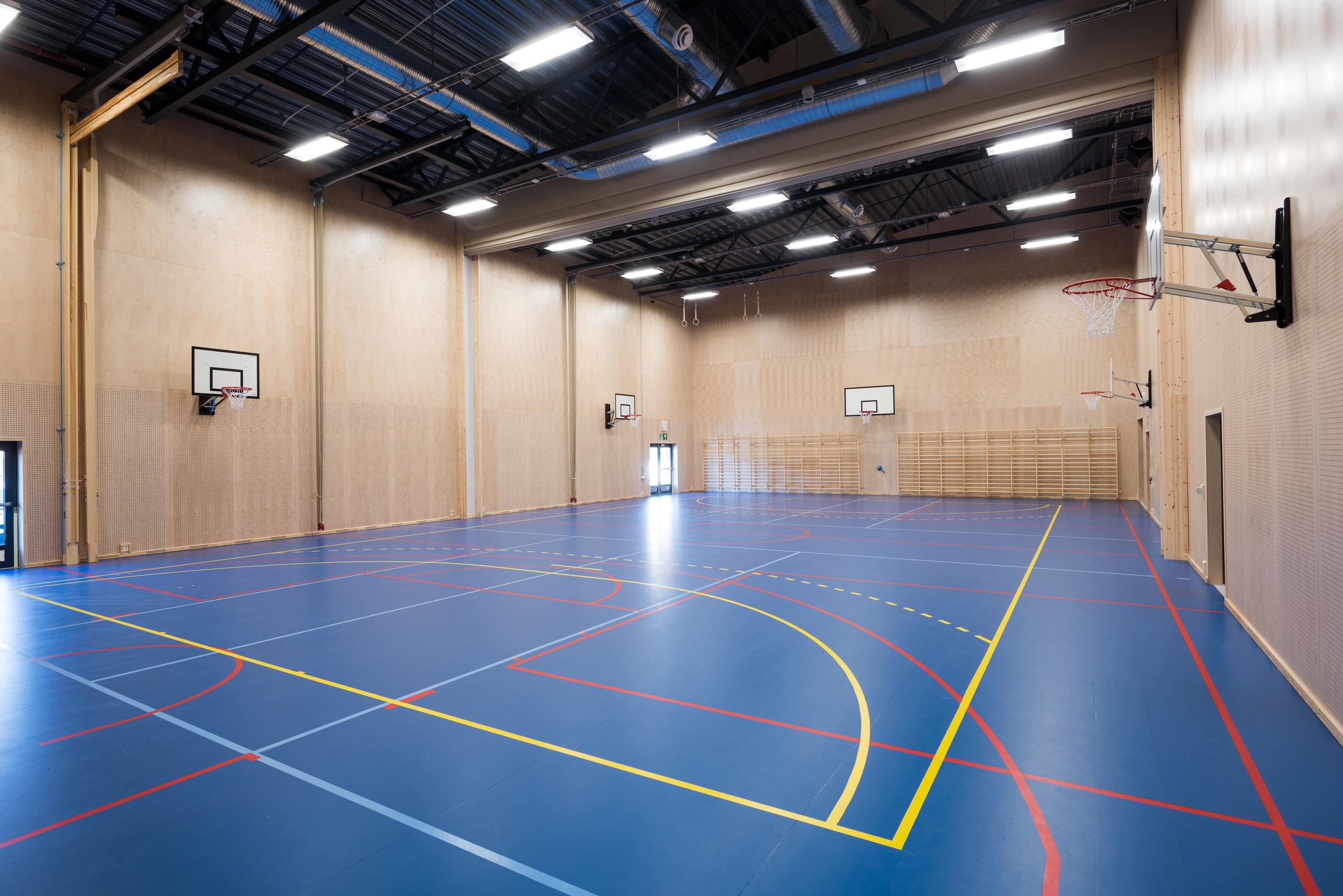 Idrettshall ved Munkerud skole