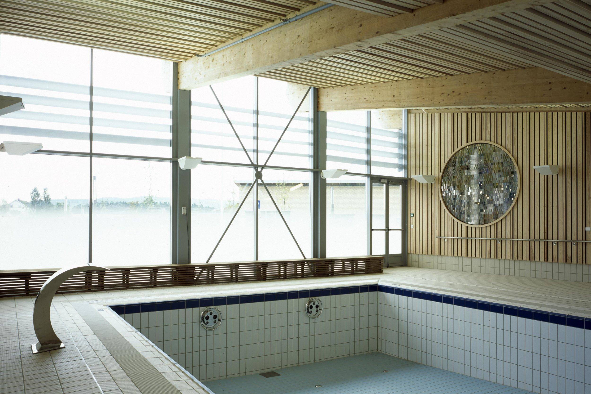 Svømmehall ved Sørvald behandlingssenter