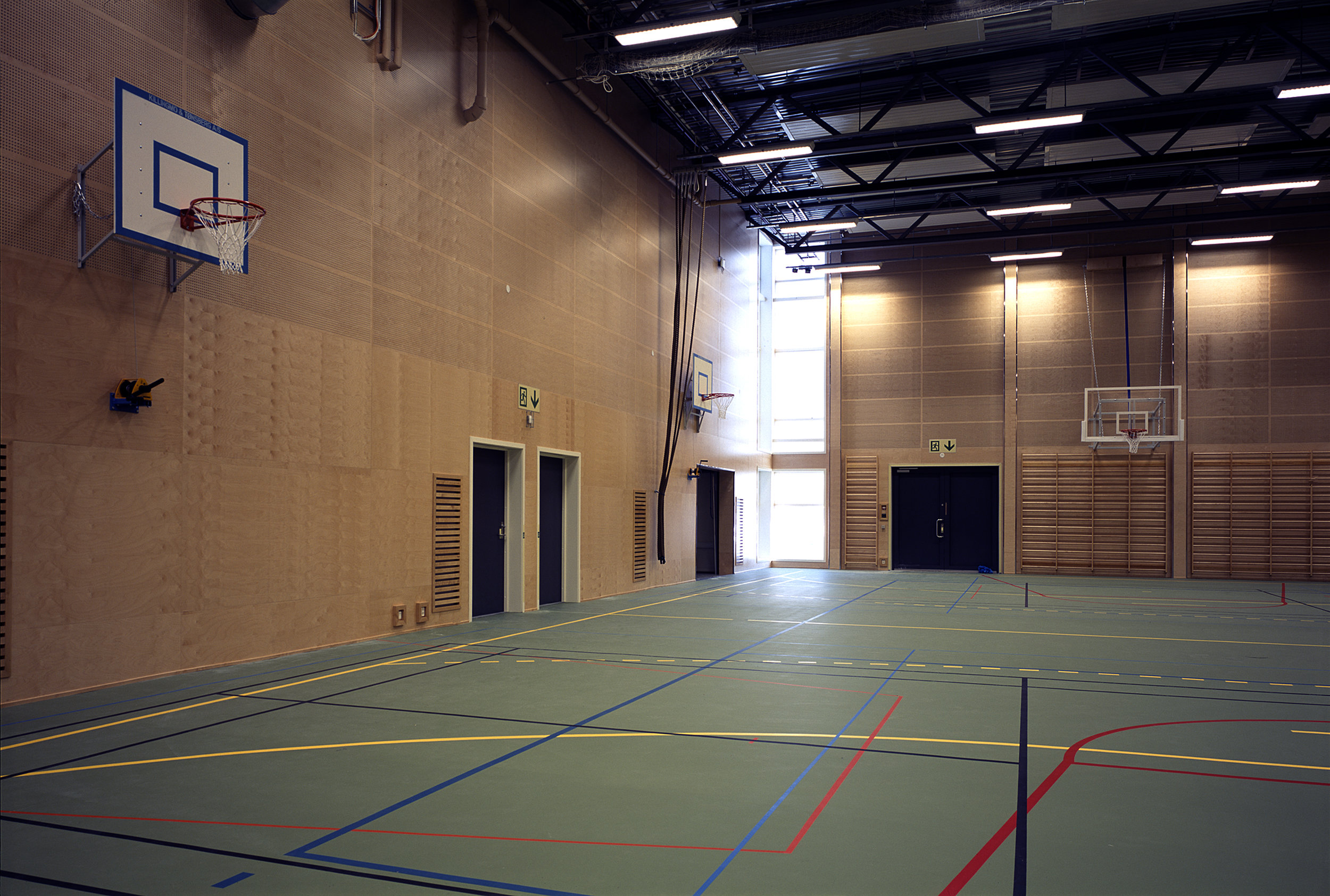 Idrettshall ved Evje skole