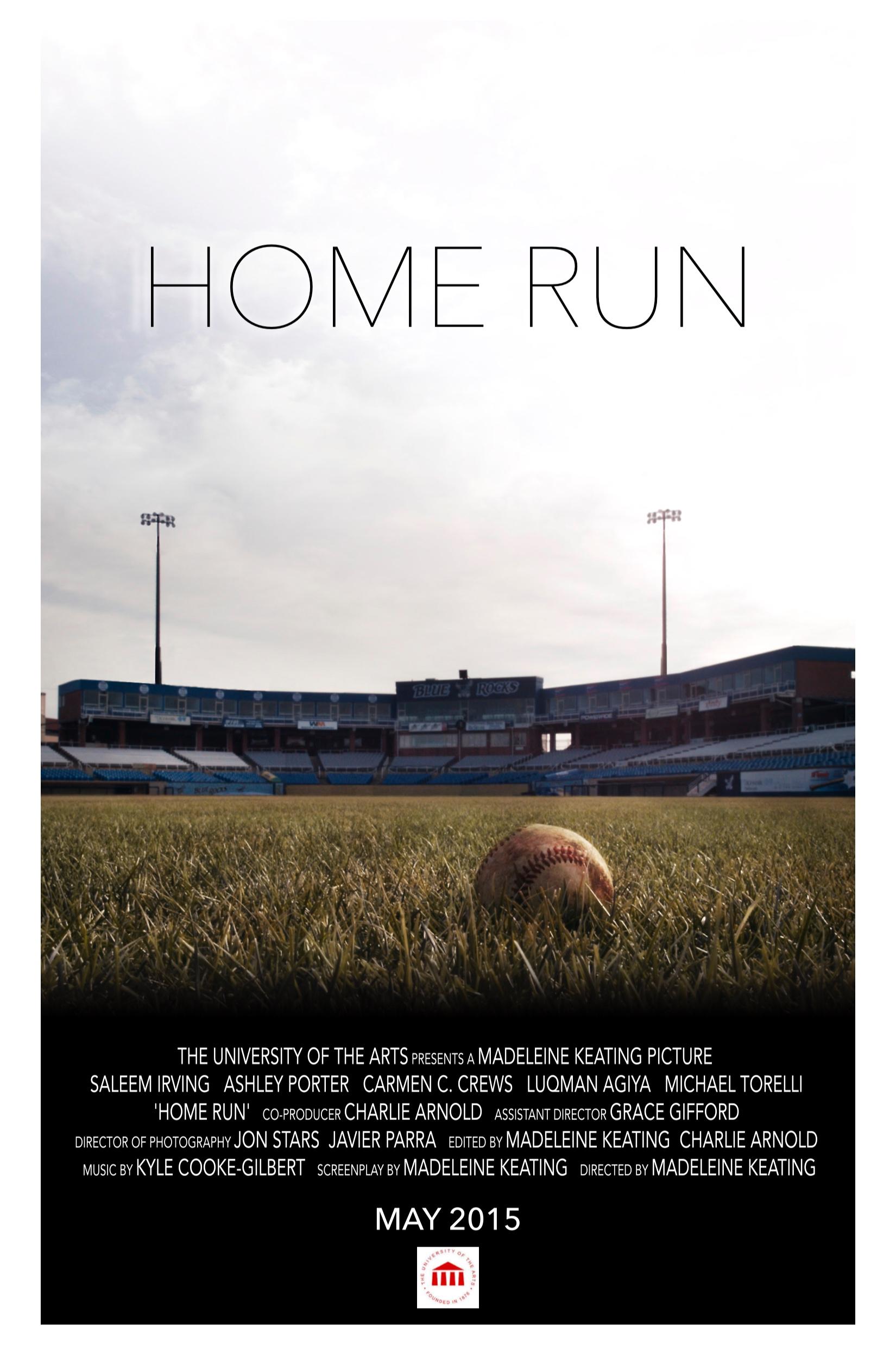 Home Run Poster