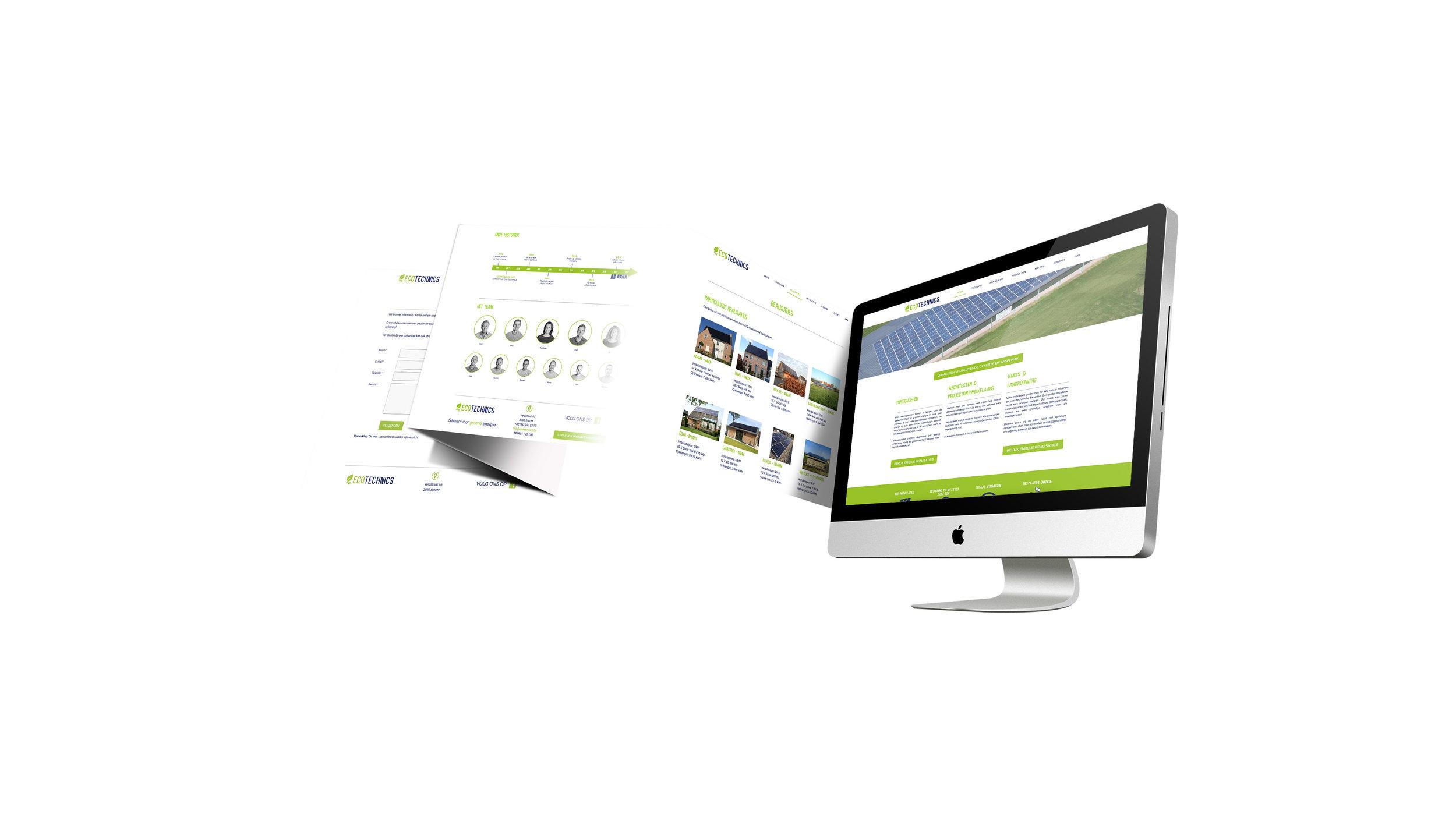 www.ecotechnics.be - realisatie van Het Kollektief