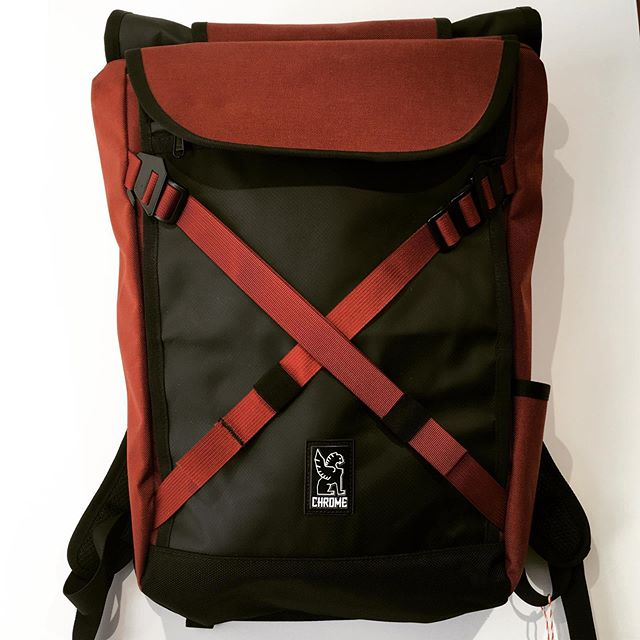 "Back to reality. Chrome Bravo 2.0 = 100% waterproof for a 15"" which doesn't like wet conditions. #chromeindustries #bravo #backtoschool #backpack #eindhovencity #eindhoven #regen #commuter #loveyourbicycle"