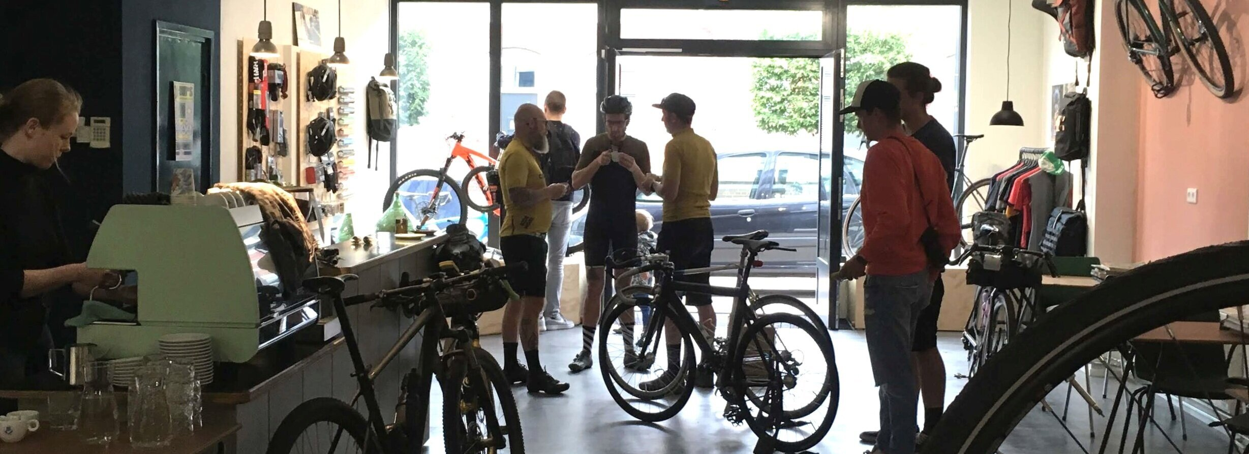 LiebesRad een plek voor fietsers in Eindhoven