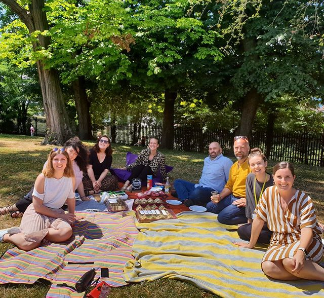 Picnic anyone? 🧺 If you want to be a part of our dream team we are currently hiring for a Project Director. Get in touch. #teamunicorn #picnic #eventprofs #events #teambuilding #getoutdoors