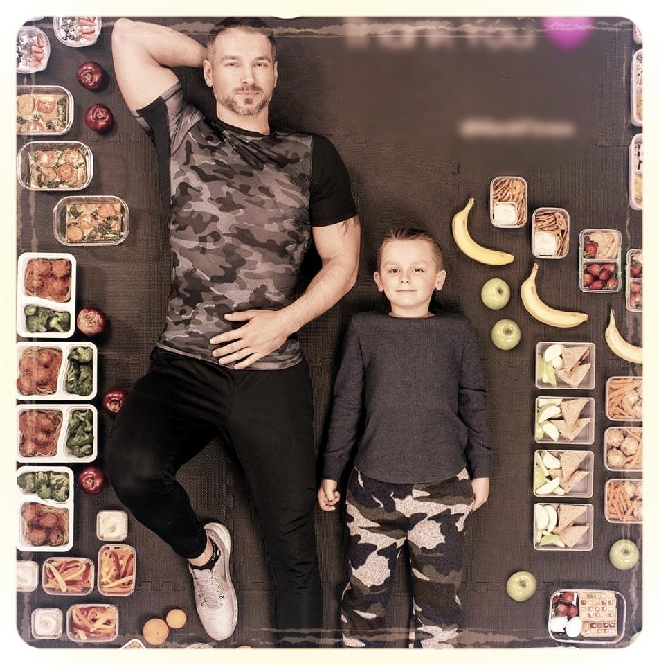 Marek geeft op Instagram inspiratie voor gezonde sportvoeding.