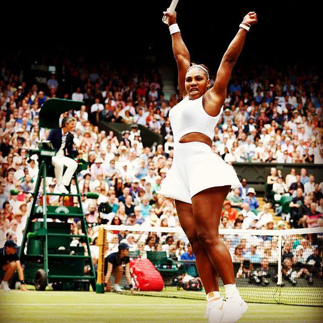 We ❤️ Serena   swipe voor 💪🏽💪🏽💪🏽 #serenawilliams #forpresident #biceps #foreveryone #fitnessfactory #biltstraat #fitnessandfriends